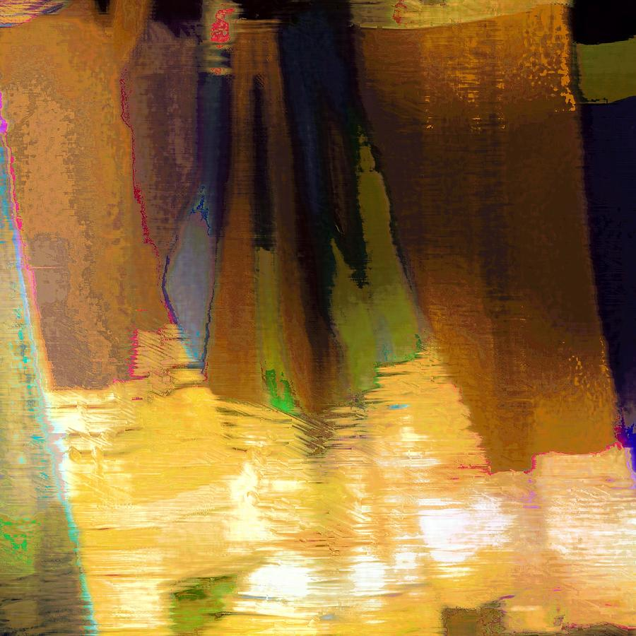 Abstract Photograph - Travel Shopping Colorful Scarves Abstract Series India Rajasthan 1j by Sue Jacobi