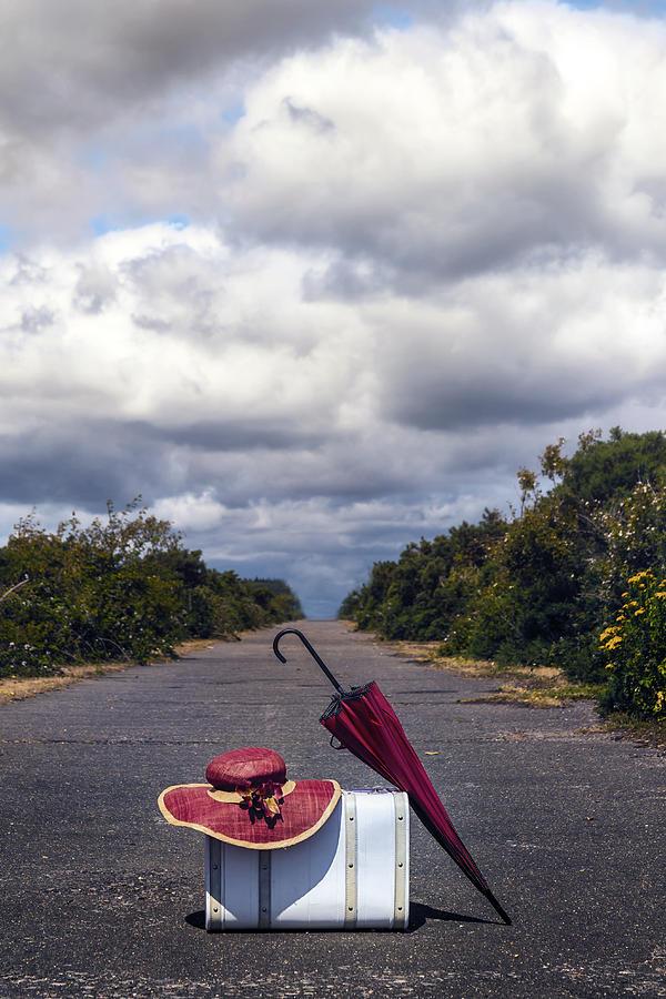 Suitcase Photograph - Travel Utensils by Joana Kruse