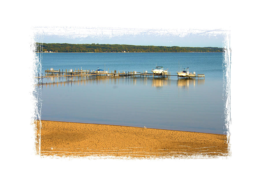 Water Photograph - Traverse City East Bay II by Don  Vella