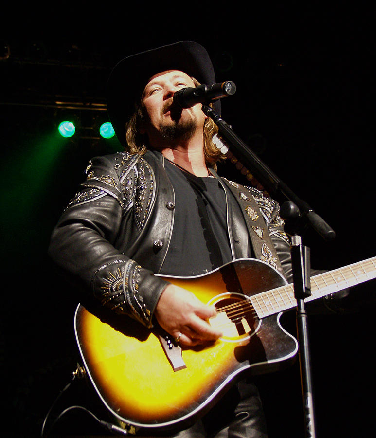 Travis Tritt Photograph - Travis Tritt Country Music Singer by Jeff  Young