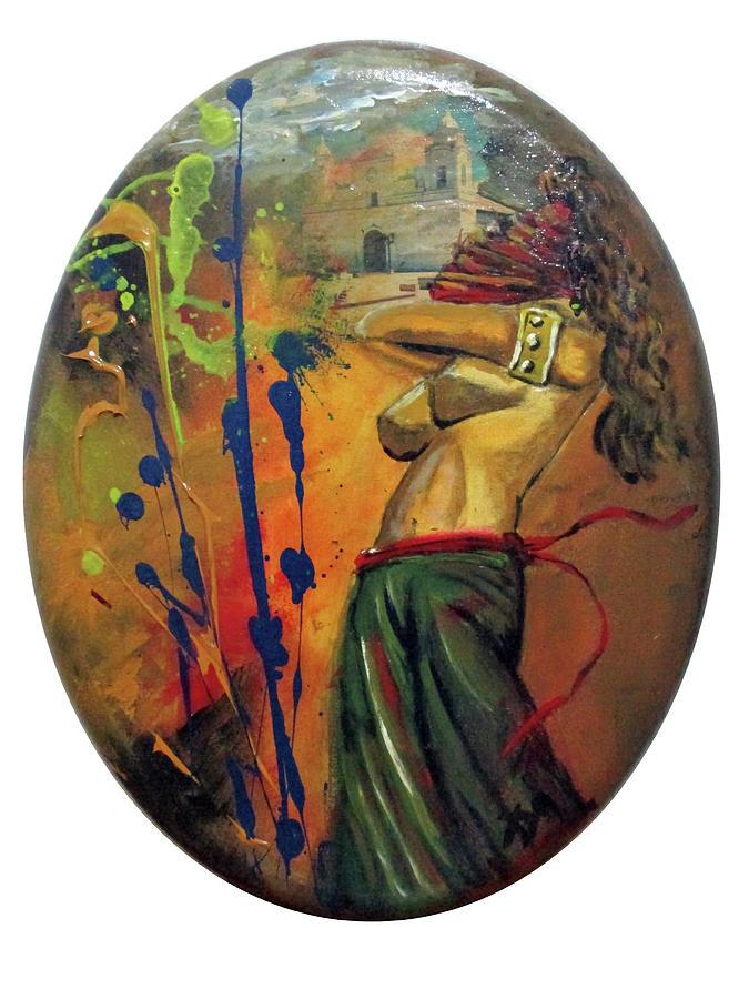 Trayectos Painting by Carlos Paredes