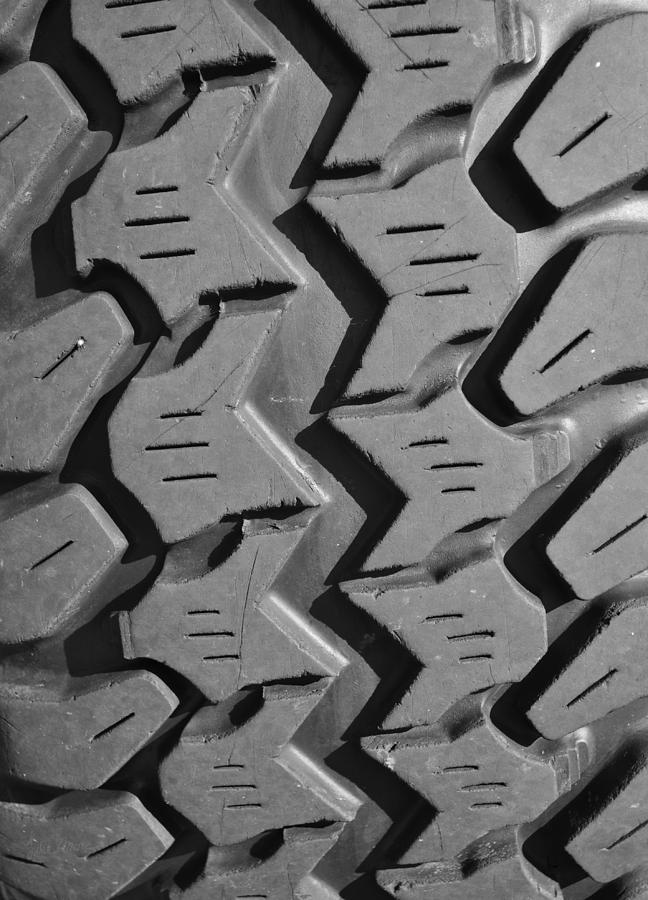 Jeep Photograph - Tread Blox 1 by Luke Moore