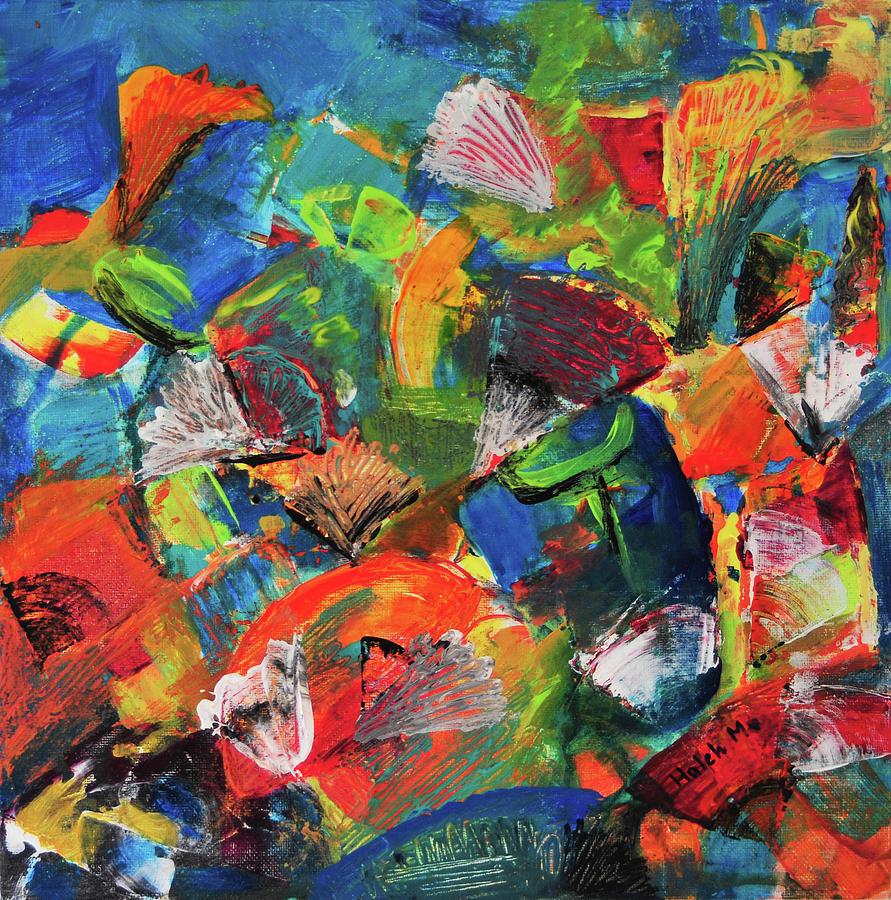 For Kids Painting - Treasure  by Haleh Mahbod