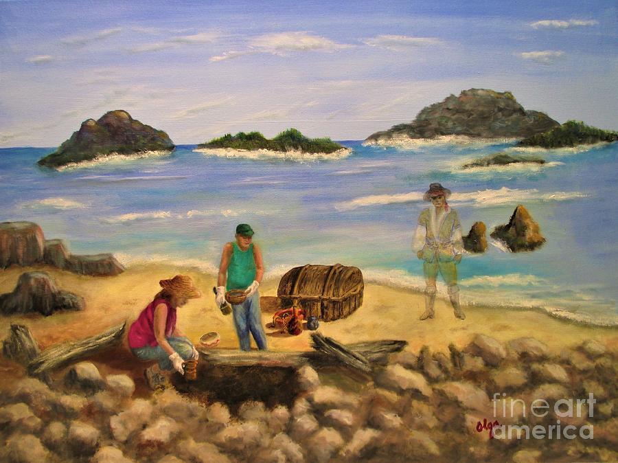 Treasure Hunting by Olga Silverman