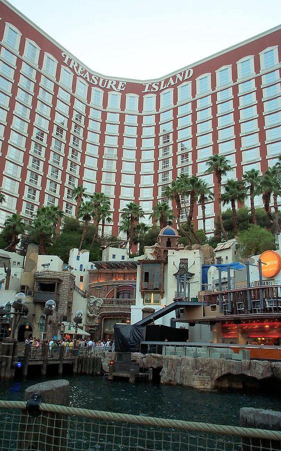 Treasure Photograph - Treasure Island Hotel And Casino Las Vegas Nevada by Alan Espasandin