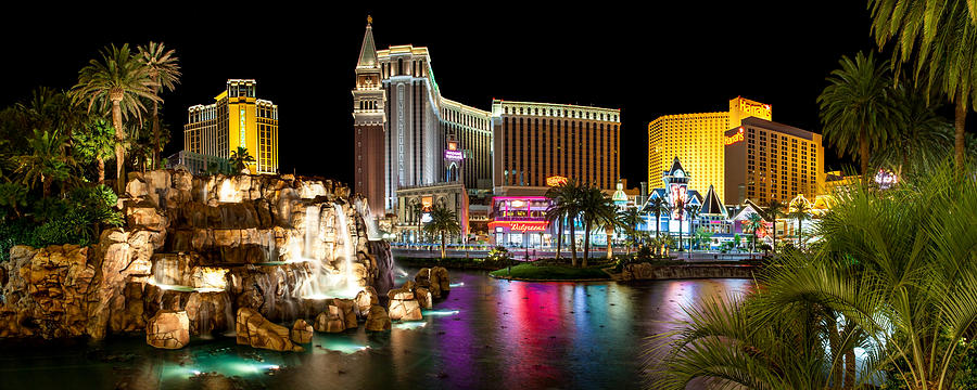 Las Vegas Photograph - Treasure Island View by Az Jackson