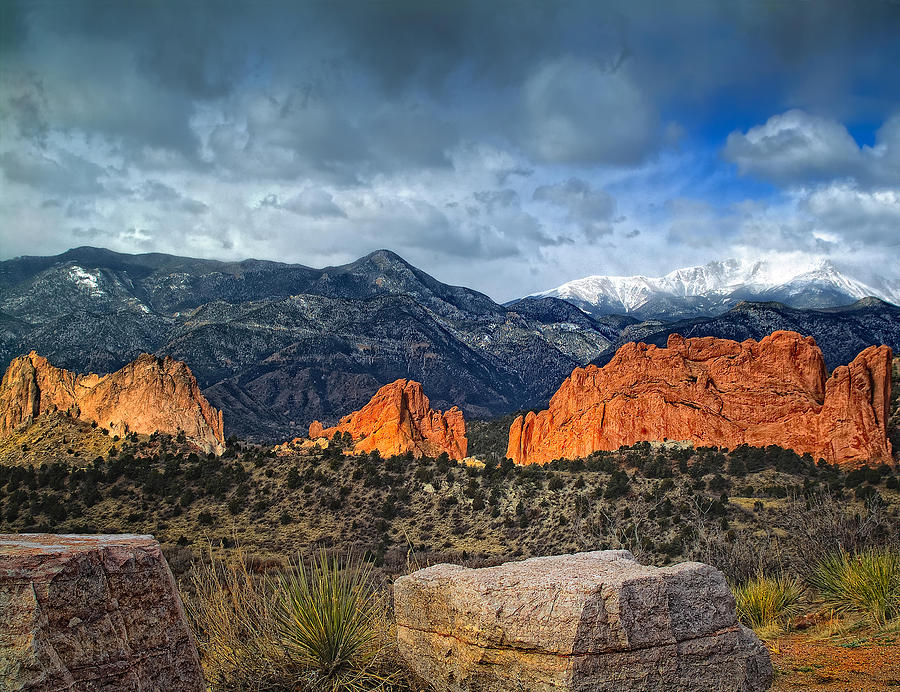 Treasures Of Colorado Springs Photograph By Tim Reaves
