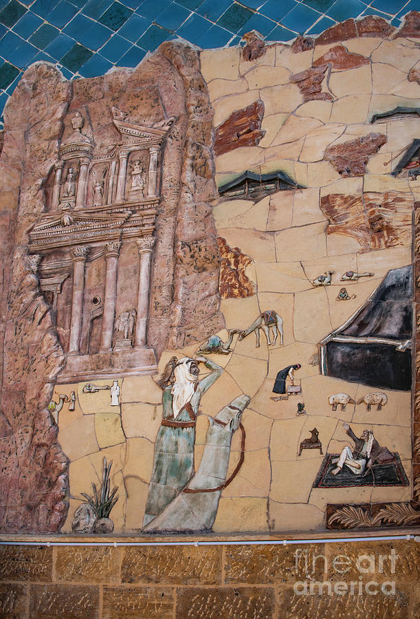 Treasury Mosaic Photograph by Mae Wertz