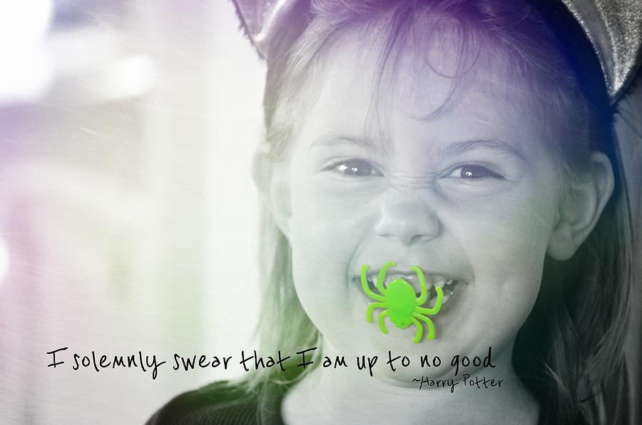 Trick Photograph - Treat Quote by JAMART Photography