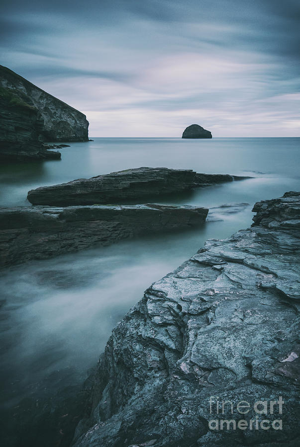 Trebarwith Strand II by David Lichtneker