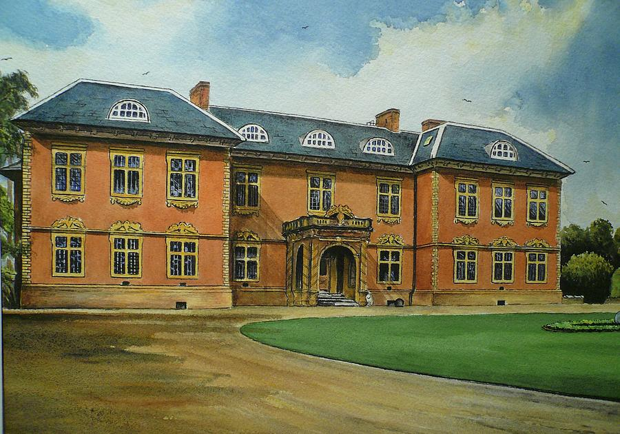 Haunted House Painting - Tredegar House by Andrew Read