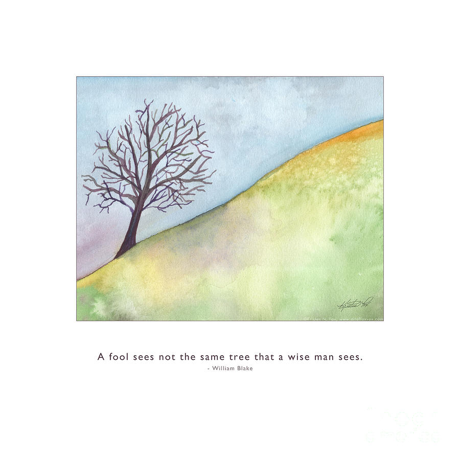 Tree A Wise Man Sees by Kristen Fox