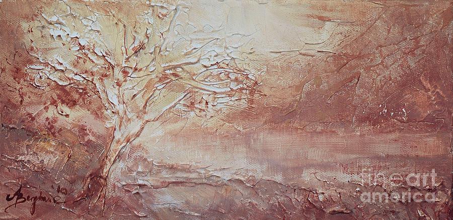 Tree Painting by Aneta  Berghane