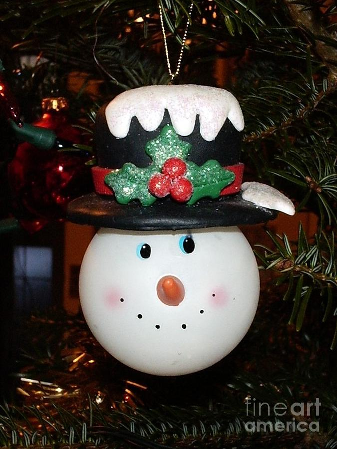 Christmas Photograph - Tree Decoration by Deborah Brewer