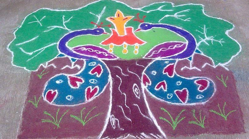 Most Viewed Picture Ceramic Art - Tree Design by Joni Mazumder
