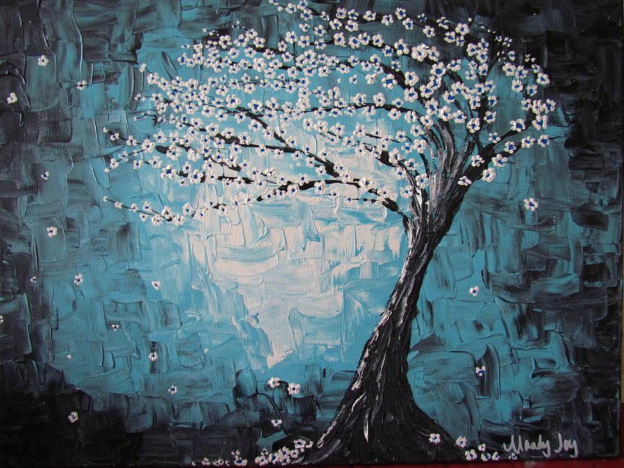 Tree In The Breeze by Mandy Joy