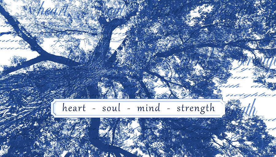 Boise Digital Art - Tree In Your Heart by Sabrina Farmer