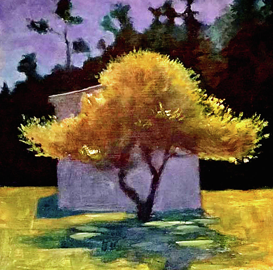 Dramatic Painting - Tree by James Murphy