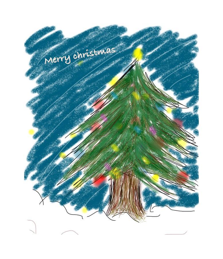 Tree Drawing - Tree by Kumiko Izumi