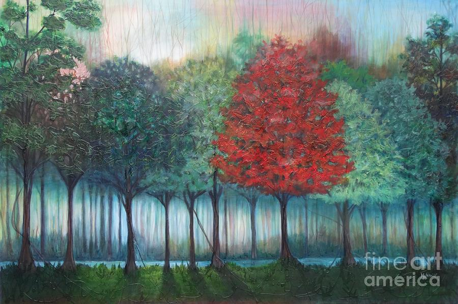 Tree Line by M J Venrick