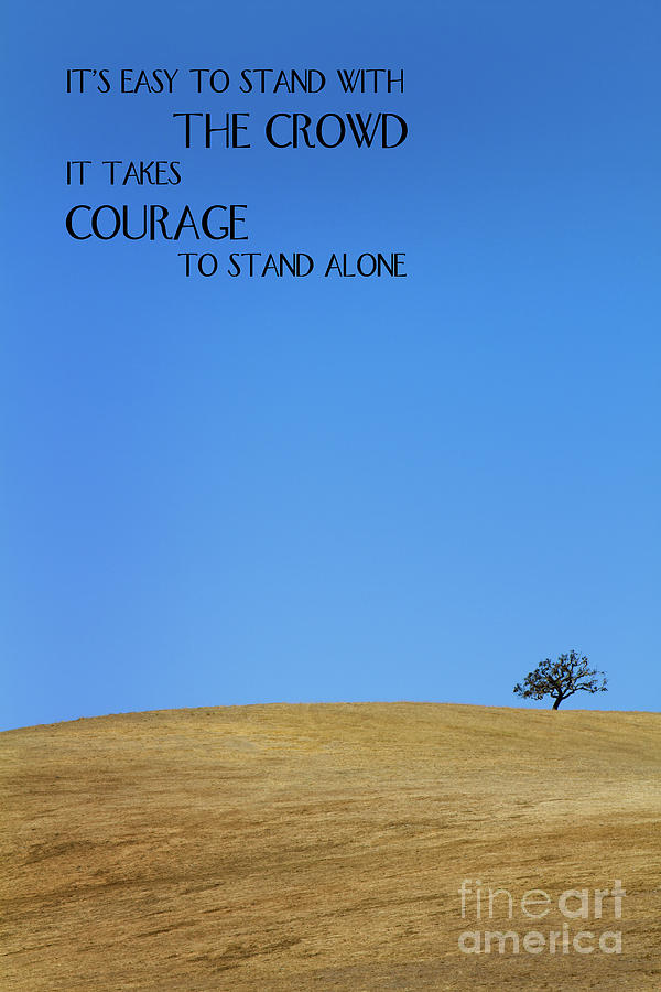 Tree Of Courage by Steven Frame