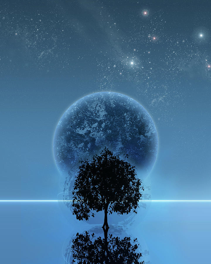 Graphic Design Digital Art - Tree Of Life by Andreas  Leonidou