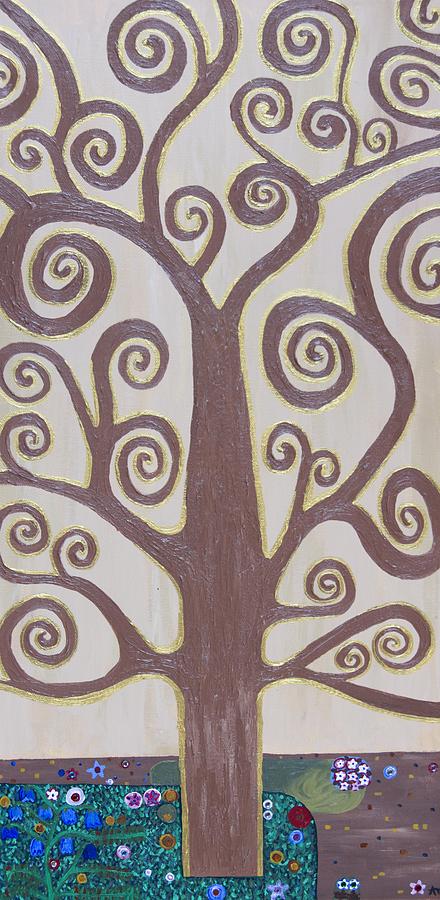 Tree Painting - Tree Of Life by Angelina Vick