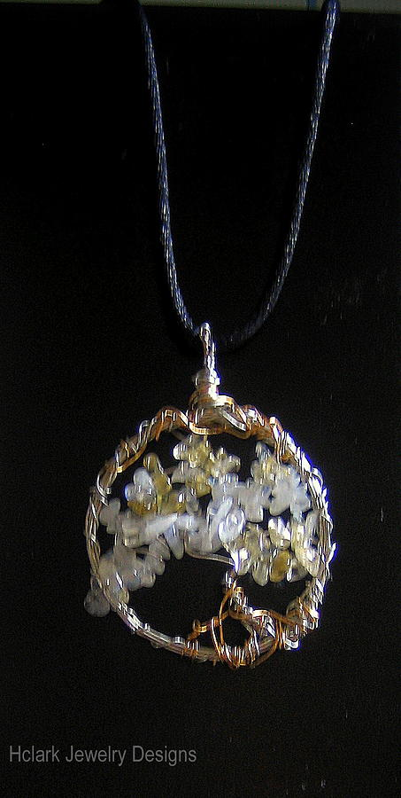 Pendants Jewelry - Tree Of Life by Holly Clark