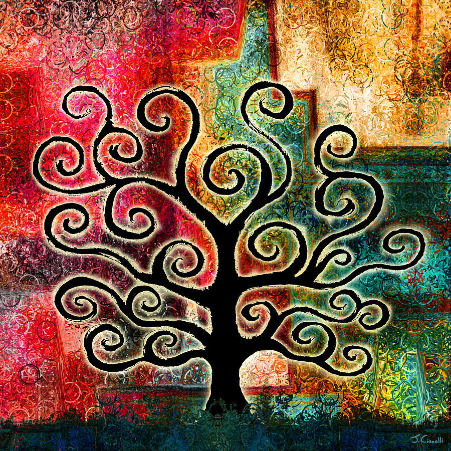 Tree Painting - Tree Of Life by Jaison Cianelli
