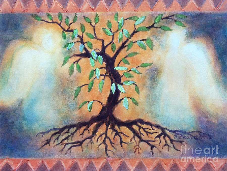 Paintings Painting - Tree Of Life by Kathy Braud