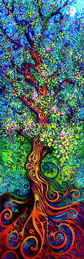 Tree Painting - Tree Of Life by Laura Zollar