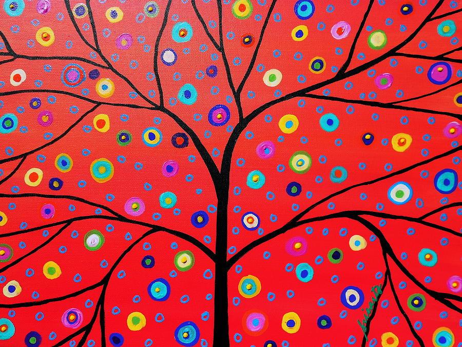 Bar Painting - Tree Of Life Painting by Pristine Cartera Turkus
