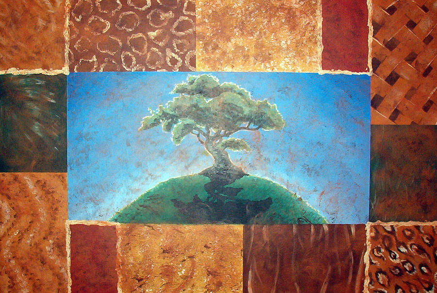 Tree Painting - Tree Of Life by Shea Rutherford