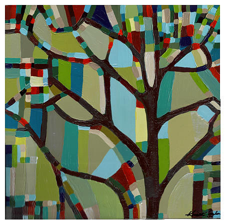 Painting Painting - Tree View No. 17 by Kristi Taylor