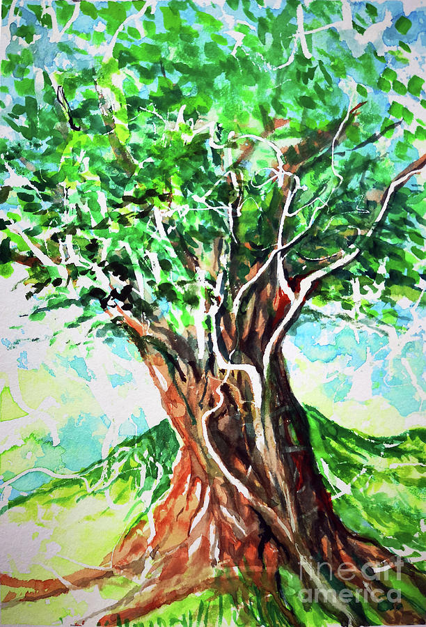 Tree with a Big Heart by Armand Roy