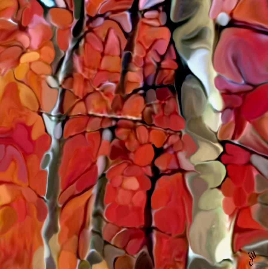 Landscape Painting - Treelings by Jonathon Hetts