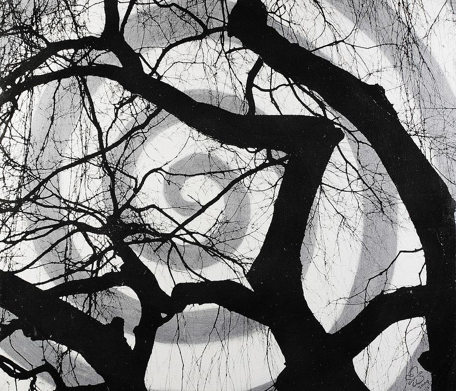 Tree Mixed Media - Treeman by Arnuda