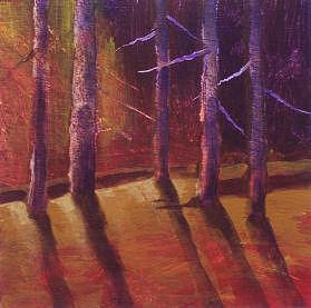 Trees Painting by Dalas  Klein