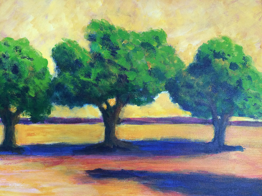 TREES DON'T DISAPPOINT #1 by Edy Ottesen