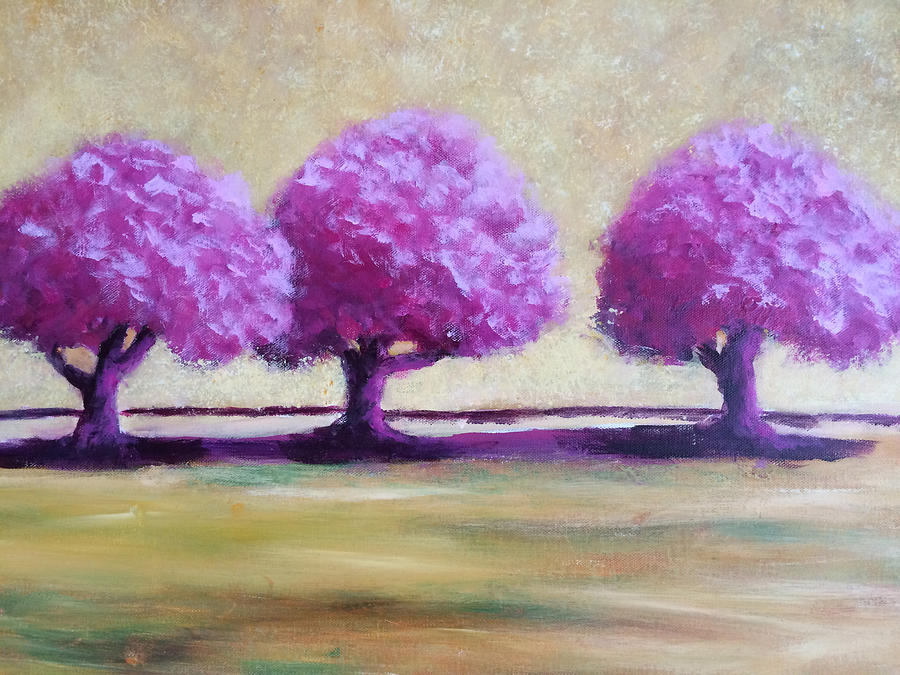 TREES DON'T DISAPPOINT #3 by Edy Ottesen