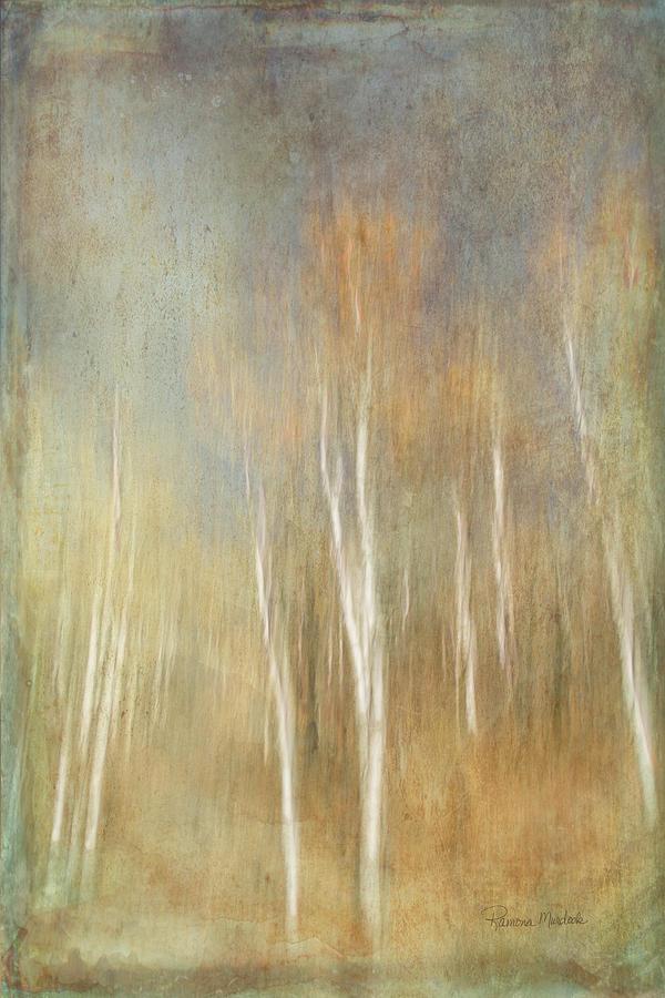Trees Digital Art - Trees Ethereal Grove by Ramona Murdock