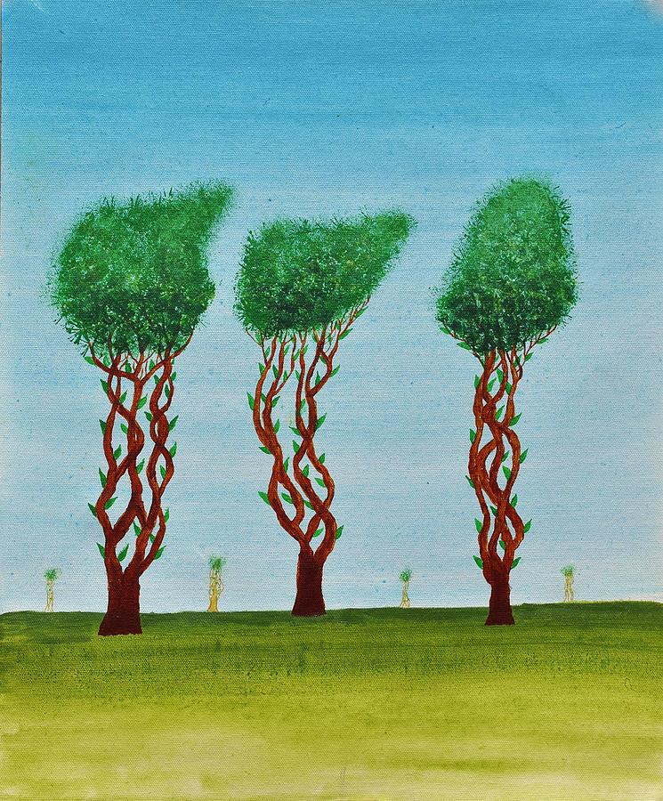 Trees Of Jasoon Painting