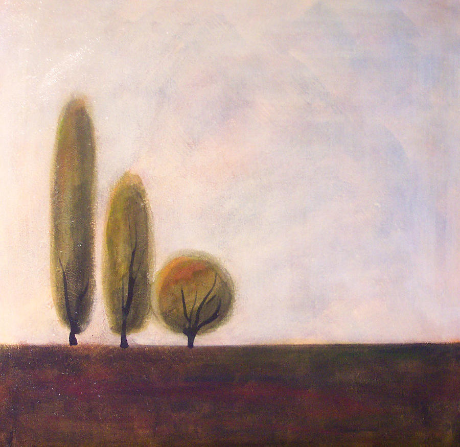 Trees Painting - Trees Of Tuscany 2 by Victoria Heryet