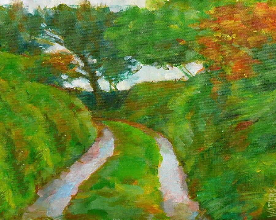 Trefula Lane Painting by Scott Waters