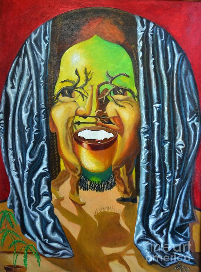 Bob Marley Painting - Trenchtown Tremor by David G Wilson