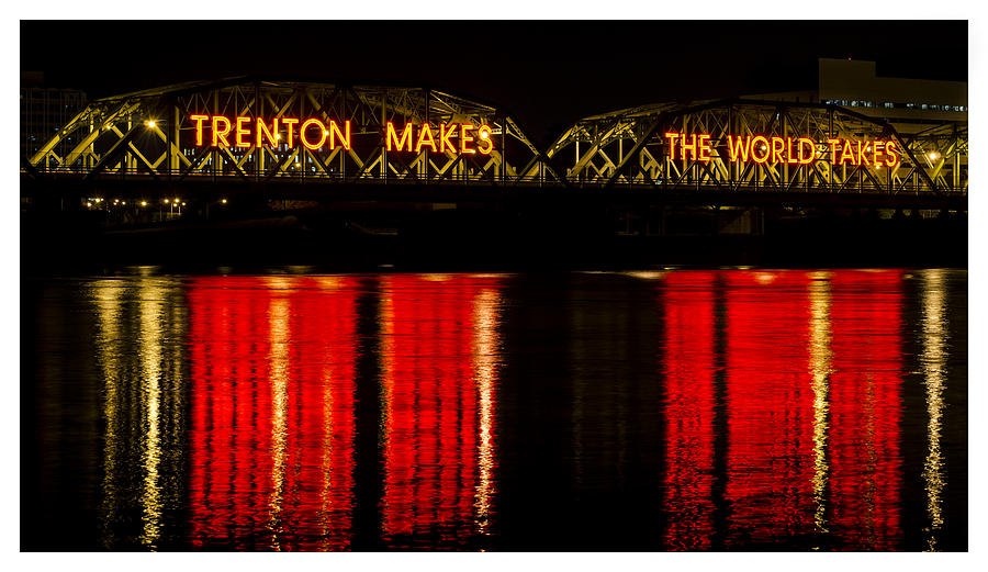 Calhoun Street Bridge, Trenton by Shawn Colborn