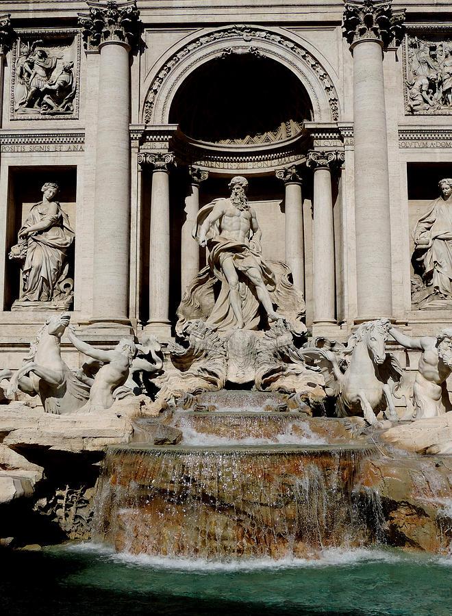 Trevi Photograph - Trevi Fountain by Leena Kewlani