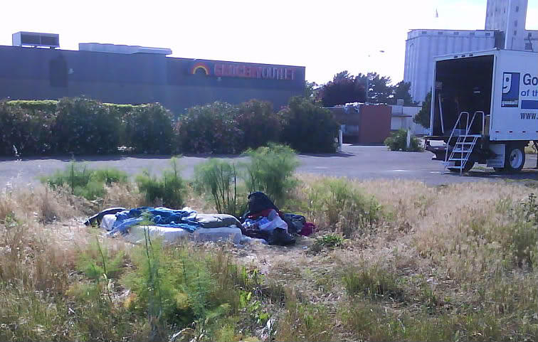 Hobo Photograph - Triangle Of Poverty by Frankie Graham