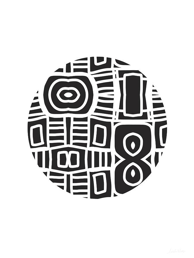 Tribal Digital Art - Tribal Ball- Art By Linda Woods by Linda Woods