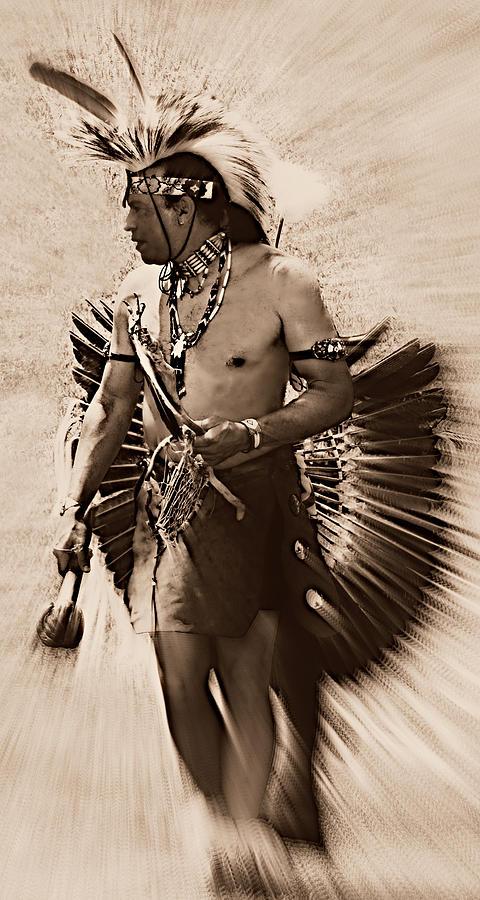 Native Photograph - Tribal Dancer by Tina Meador